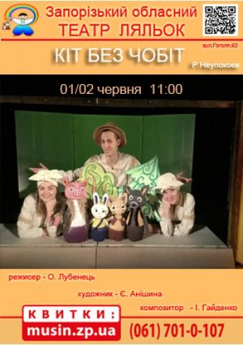 Кіт без чобіт (Театр ляльок)